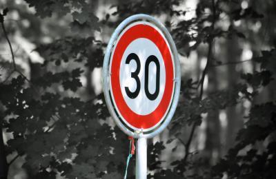 Foto zur Meldung: Neue Tempo-30-Regelung an der L 100 in Wandlitz