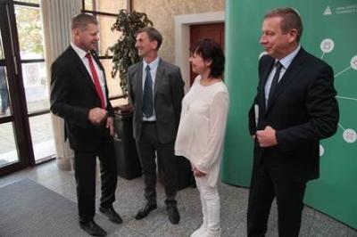 Foto zur Meldung: Abfallentsorgungsverband Schwarze Elster feierte 25-jähriges Jubiläum