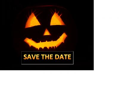 Vorschaubild zur Meldung: SAVE THE DATE - KiJuPa Halloween Party