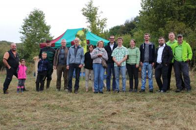 Eröffnung des 1. Naturschutz- und Kulturlandschaftspflegetag (Bild: Charlotte Föller)