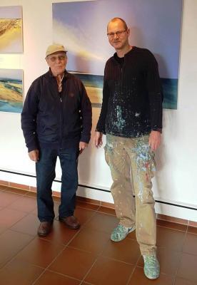 Gerhard Kedainis - der 1000. Besucher