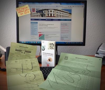 Wahlschein Online: Briefwahlunterlagen können über die städtische Homepage angefordert werden