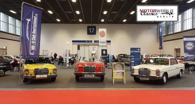 Der MB /8 Club Deutschland e.V. auf der Motorword Classics 2018 in Berlin