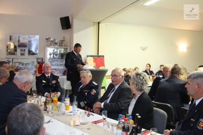 Foto zur Meldung: Festsitzung der Freiwilligen Feuerwehr Sülte