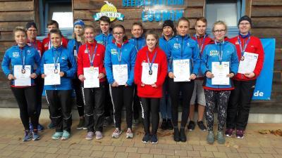 Foto zur Meldung: Medaillenregen für Laager Läufer bei Landesmeisterschaften