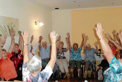 Foto zur Meldung: Seniorentreffen in Rothstein