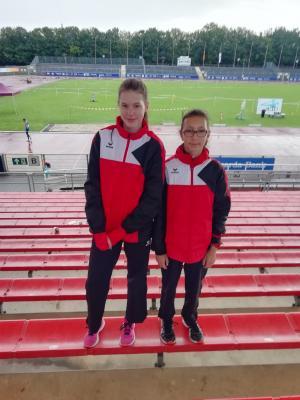 Lena Morig und Milena Riehn