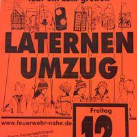 Vorschaubild zur Meldung: Laternenumzug in Nahe - die Freiwillige Feuerwehr lädt ein!