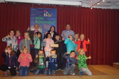 Foto zur Meldung: Schüler spenden für Kinderdorf