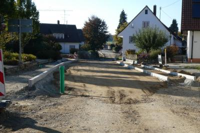 Baumaßnahme OD Steinhausen