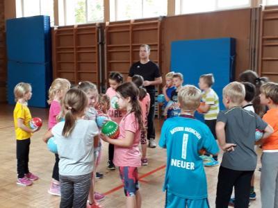 Foto zur Meldung: Handballtag