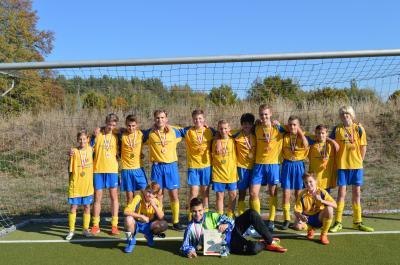 Foto zur Meldung: Kreisfinale im Fußball WK III in Senftenberg