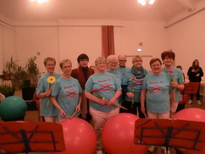 Foto zur Meldung: Neujahrstreffen der SHG – Sprecherinnen und -sprecher bei REKOSI