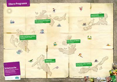Vorschaubild zur Meldung: Das Elternprogramm Schatzsuche geht in die nächste Runde - Anmeldung für den nächsten Kurs möglich