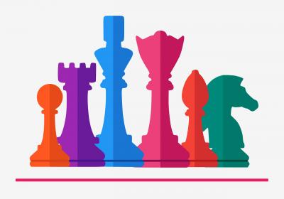 Foto zur Meldung: Kleiner Schachmeisterganz groß