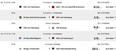 Foto zur Meldung: Fußball:+++Derbysieg im Kreispokal; neuer Gegner im VF Schwarzheide +++