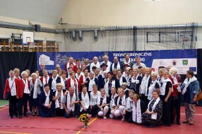 Foto zur Meldung: Rehfelder Sängerkreis beim Chor-Workshop in Gorki Notecki