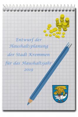 Vorschaubild zur Meldung: Der aktuelle Haushaltsentwurf für das Jahr 2019