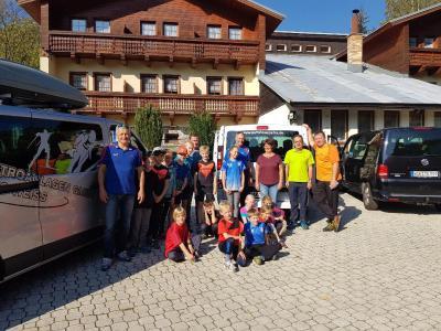 Foto zur Meldung: Skisprung-Camp Desna