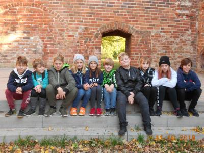 Vorschaubild zur Meldung: Klassenfahrt nach Greifswald