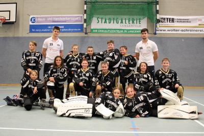 Vorschaubild zur Meldung: Das Beste kommt zum Schluss - Schüler II der Bissendorfer Panther beim Vision Sports Cup in Langenfeld