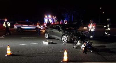 Vorschaubild zur Meldung: Einsatz Nr. 141 - Verkehrsunfall: Unterstützung Rettungsdienst, ausleuchten der Einsatzstelle