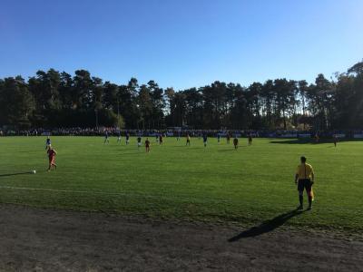 Foto zur Meldung: Pokalknüller: Hansa spielte in Lubmin