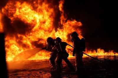 Foto zur Meldung: Alarm, Alarm – Es brennt! ... und keiner kommt?
