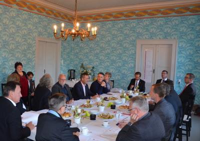 Foto zur Meldung: Treffen der Hauptverwaltungsbeamten zum Thema Kreishaushalt