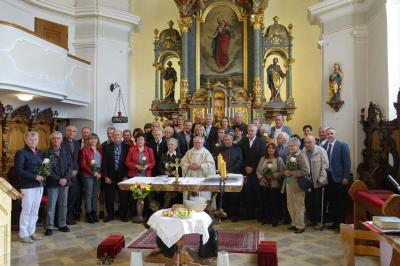 Foto zur Meldung: Ehejubiläum in unserer Pfarrgemeinde