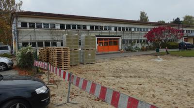 Foto zur Meldung: Altbau der Kita Fuchsbau wird gedämmt