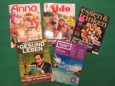 Vorschaubild zur Meldung: Neue Zeitschriften im Bestand