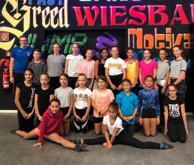 Foto zur Meldung: Ausflug in die Superfly-Trampolinhalle Wiesbaden