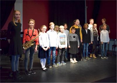 Verdienter Abschlussapplaus für die jungen Musiker