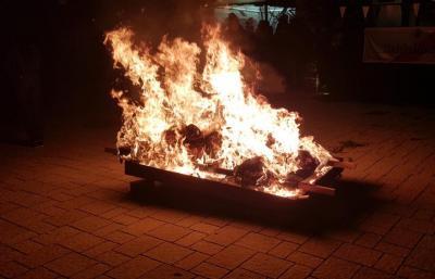Vorschaubild zur Meldung: Einsatz Nr. 147 - Brandsicherheitswachdienst Verbrennung der Kerweschlumbl