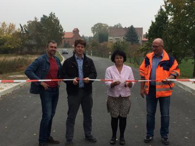 Vorschaubild zur Meldung: Sanierung der Ortsdurchfahrt Ziezow ist abgeschlossen