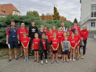 Foto zur Meldung: 5 Erfolge und 1 Pokalsieg beim Herbstschwimmfest des SV Eisleben – Sangerhausen am 20.10.2018