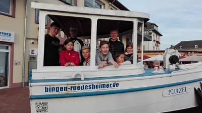 Foto zur Meldung: KIJUPA AUF GROSSER FAHRT - GELUNGENES WOCHENENDE