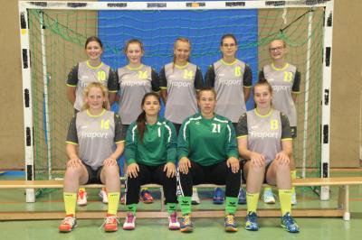 Foto zur Meldung: Oberliga: Weibliche B-Jugend JSG Buchberg (Stand: 22.10.2018)