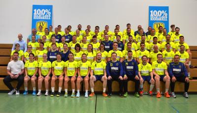 Foto zur Meldung: Handball: Neue Trikots für den TVL!