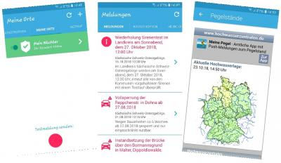 """App """"BIWAPP""""/Gemeindeverwaltung"""