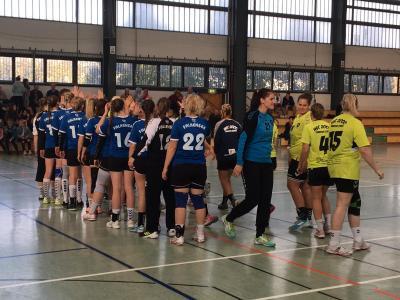 Foto zur Meldung: 1.Frauen - Unverdient hohe Niederlage beim HSC 2000 Frankfurt (Oder)