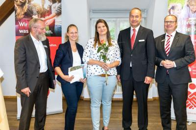 Foto zur Meldung: Projekt der Niemegker Schulsozialarbeiterin ausgezeichnet
