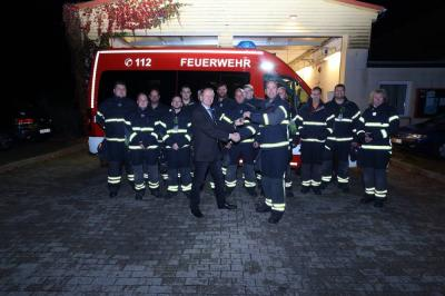 Bild der Meldung: Fahrzeugübergabe bei der Hönower Freiwilligen Feuerwehr
