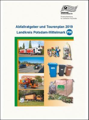 Vorschaubild zur Meldung: Der Abfallratgeber und Tourenplan 2019 geht in den Versand