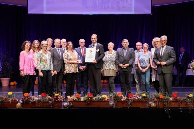 """Foto zur Meldung: Armsheim erhält Bronzemedaille bei """"Unser Dorf hat Zukunft"""""""