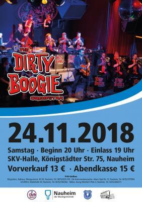 """Foto zur Meldung: Wiedersehen mit dem """"Dirty Boogie Orchestra"""" in Nauheim"""