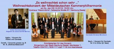 Vorschaubild zur Meldung: Mitteldeutsche Kammerphilharmonie zu Gast in Nienburg (Saale)