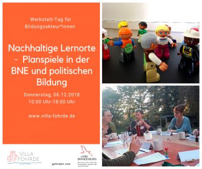 Vorschaubild zur Meldung: Fachtag am 6.12. Planspiele Nachhaltigkeit