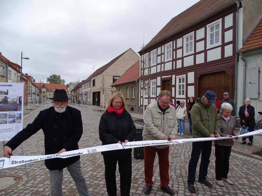 Vorschaubild zur Meldung: Prinzenstraße wurde für den Verkehr freigegeben